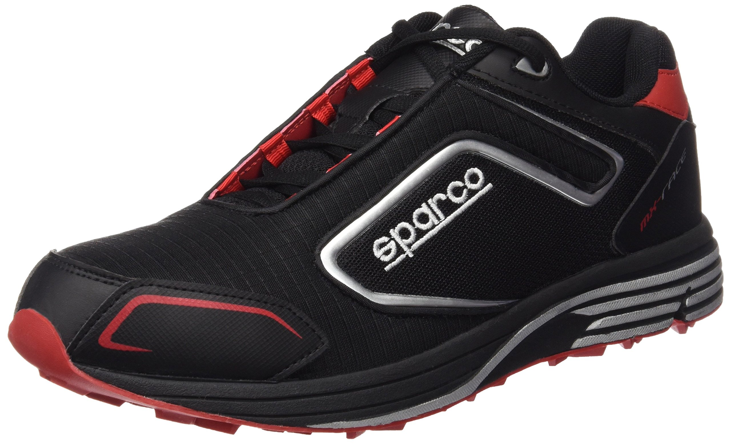 Sparco MX Race Shoes 01216 (Size 46, Black/Red)
