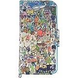 グルマンディーズ スポンジ・ボブ iPhone7(4.7インチ)対応フリップカバー うみ sb-46b