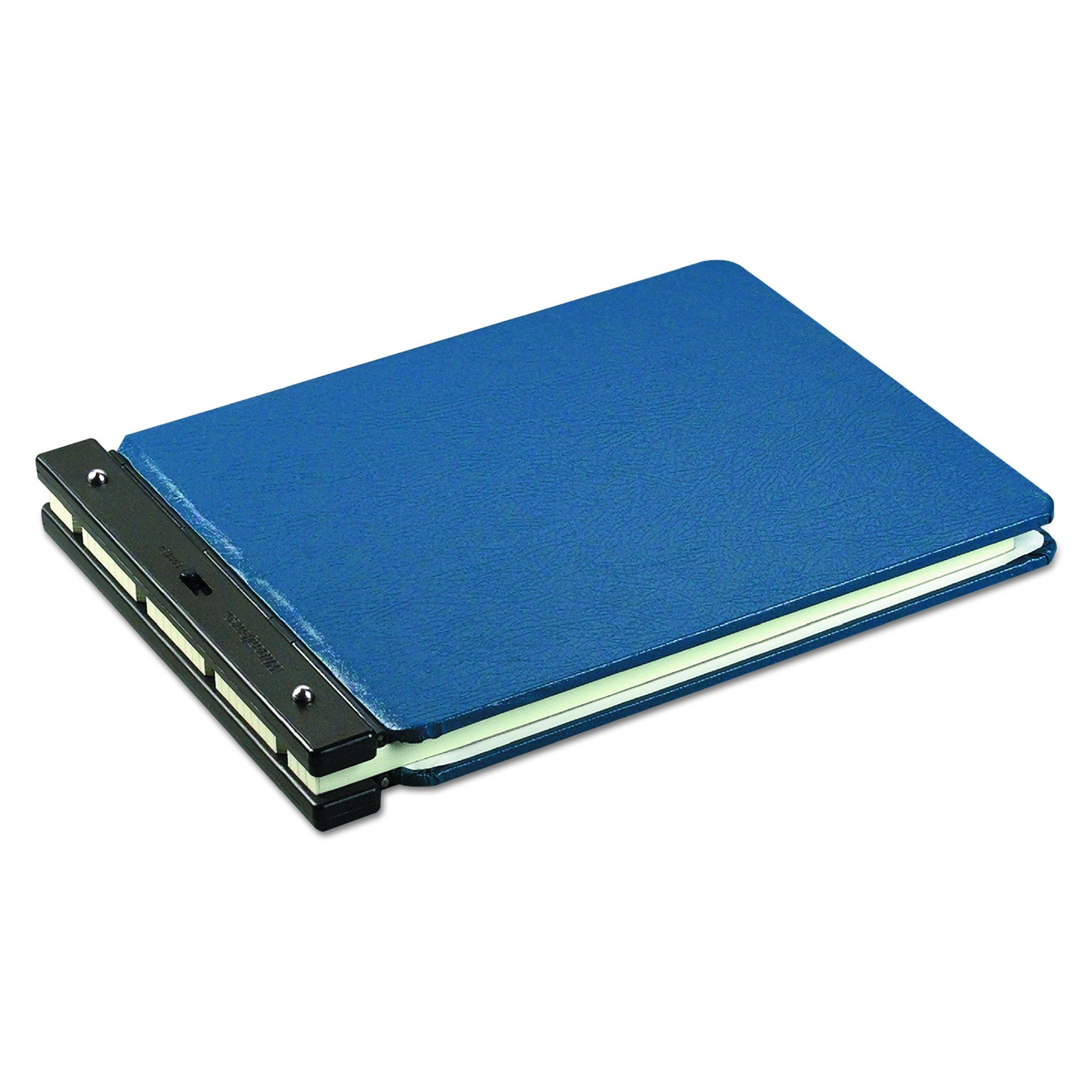 Wilson Jones Nomad Vinyl-Guarded Post Binder, 11'' x 17'', 8-1/4'' Post to Post, Light Blue, W226-65NA by Wilson Jones