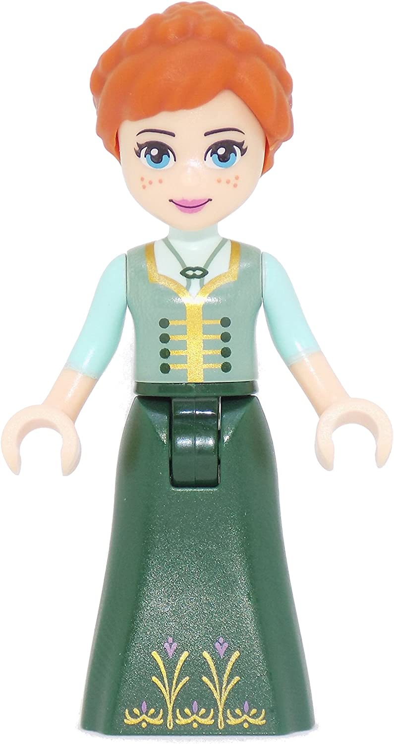 LEGO Frozen: Anna with Dark Green Coronation Gown Minifigure