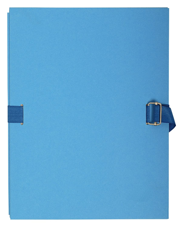Exacompta 223029E Chemise extensible Bleu fonc/é