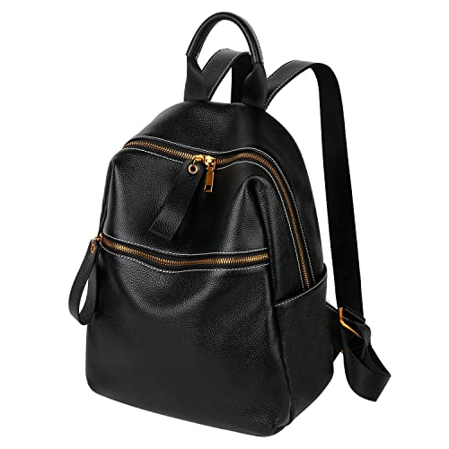 d298812d35 Backpacks for Women Vintage Style Large Capacity Leather Womens Backpack  School Bag Shoulder Bags Back to School  Amazon.co.uk  Shoes   Bags