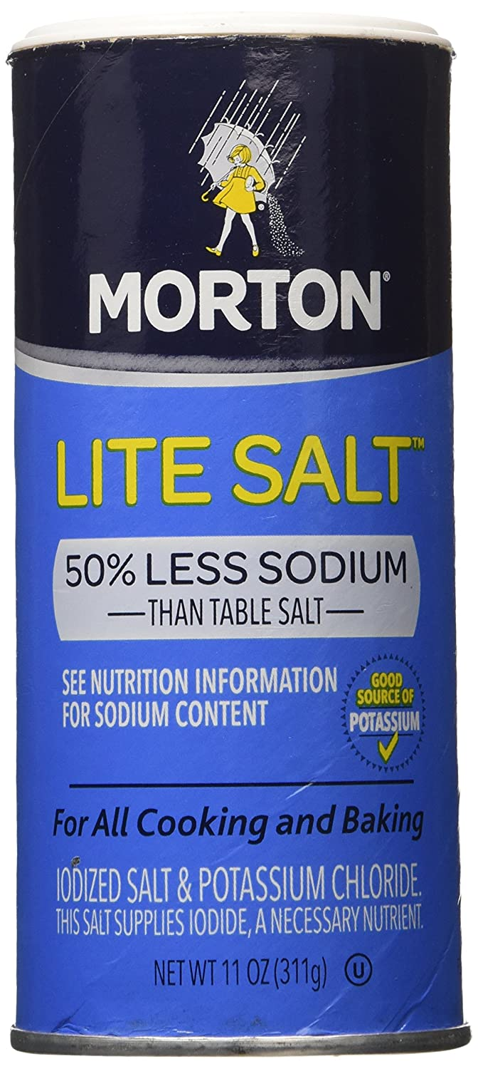 Mortons Salt Lite, 11 oz, 3-Pack : Allspice Spices And Herbs : Grocery & Gourmet Food