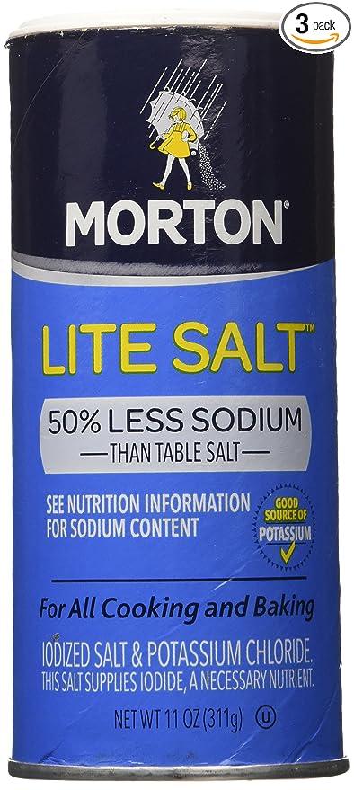 Salt: Morton Lite Salt