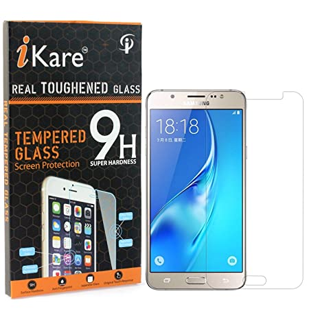 DMG iKare 2.5D 9H Tempered Screen Protector for Samsung Galaxy On8 Mobile Accessories