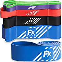 FX FFEXS Premium Pull Up Resistance Bands for Assisted for Pull Up Chin Up Exercise