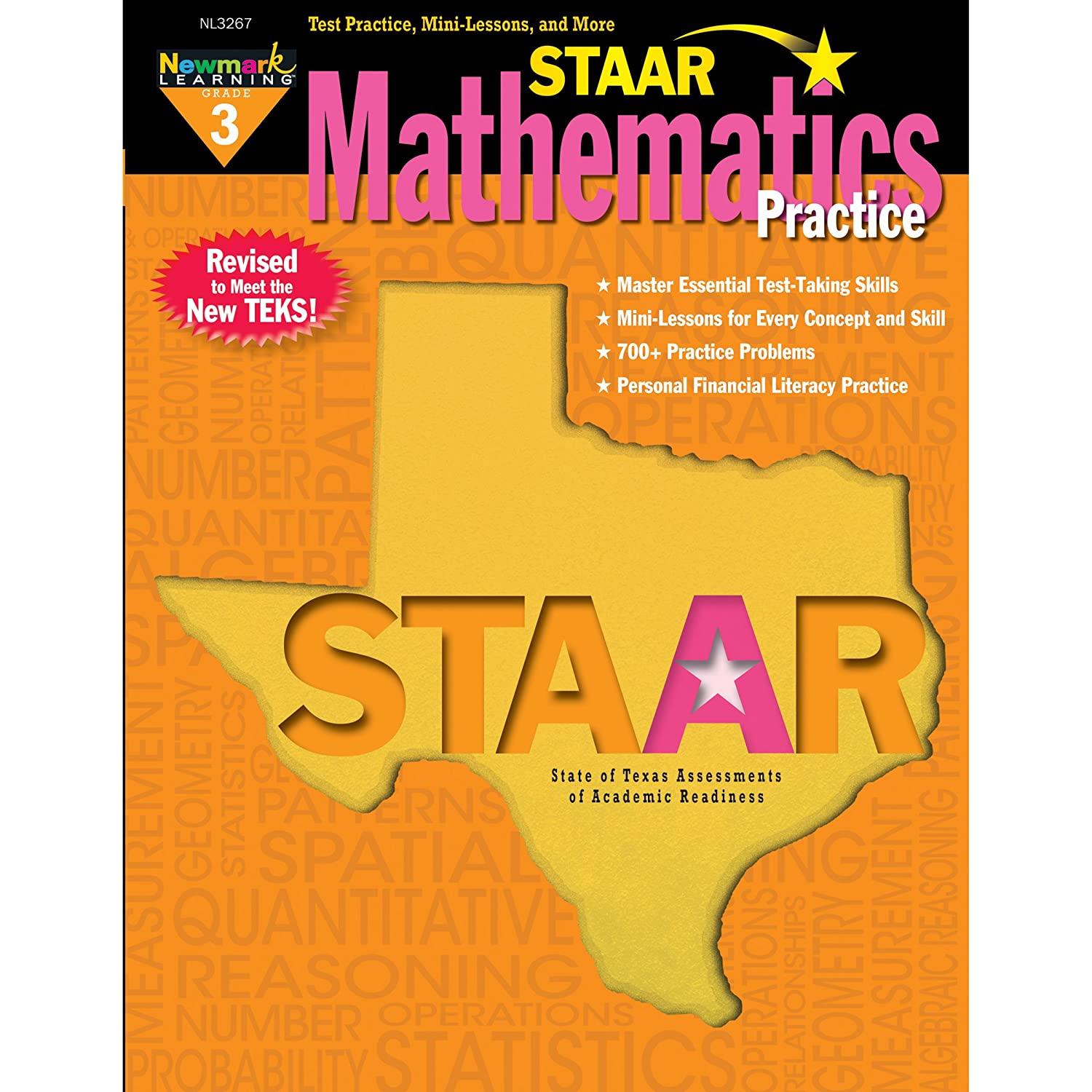 Newmark Learning Grade 3 Staar Mathematics Practice Aid 3 NL-3267