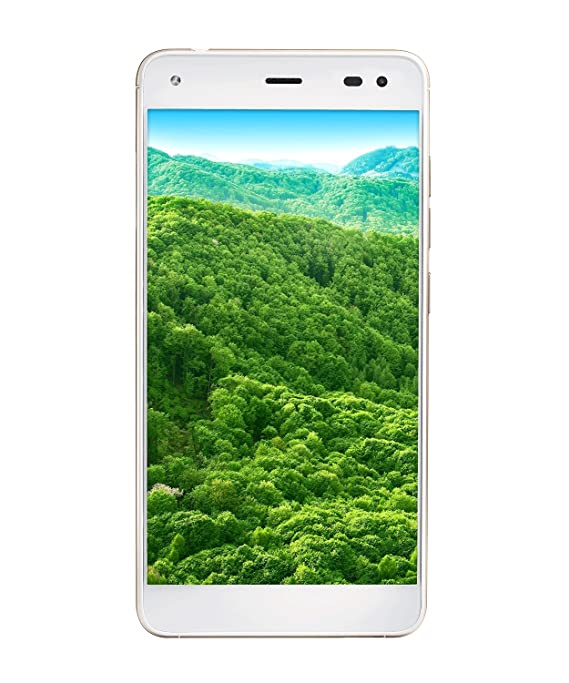 LYF Earth 1 (White) Smartphones at amazon