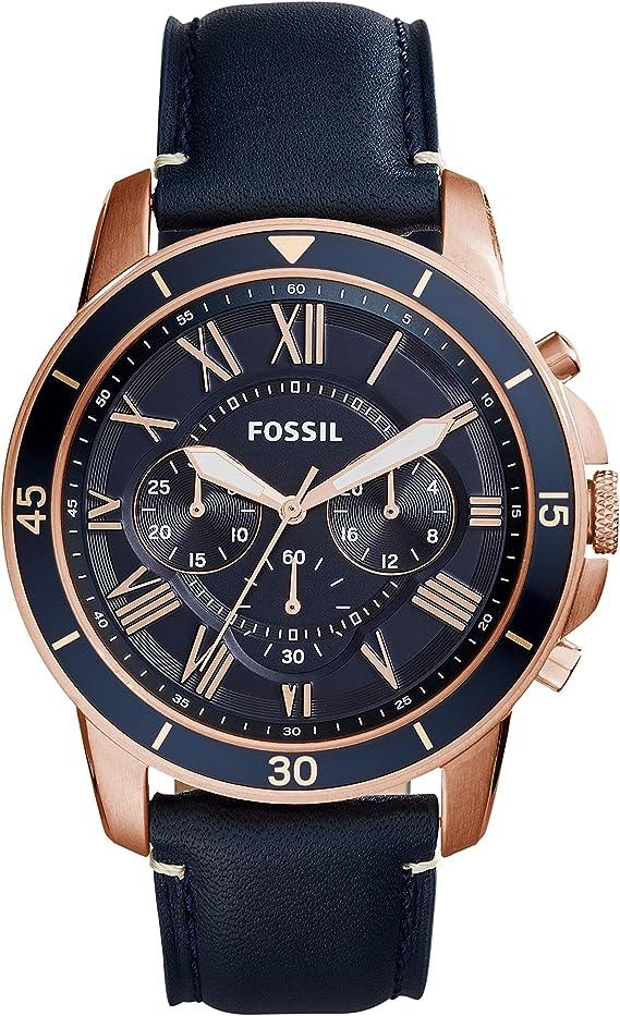 Amazon.com: Fossil - Reloj de cuarzo para hombre, de acero ...