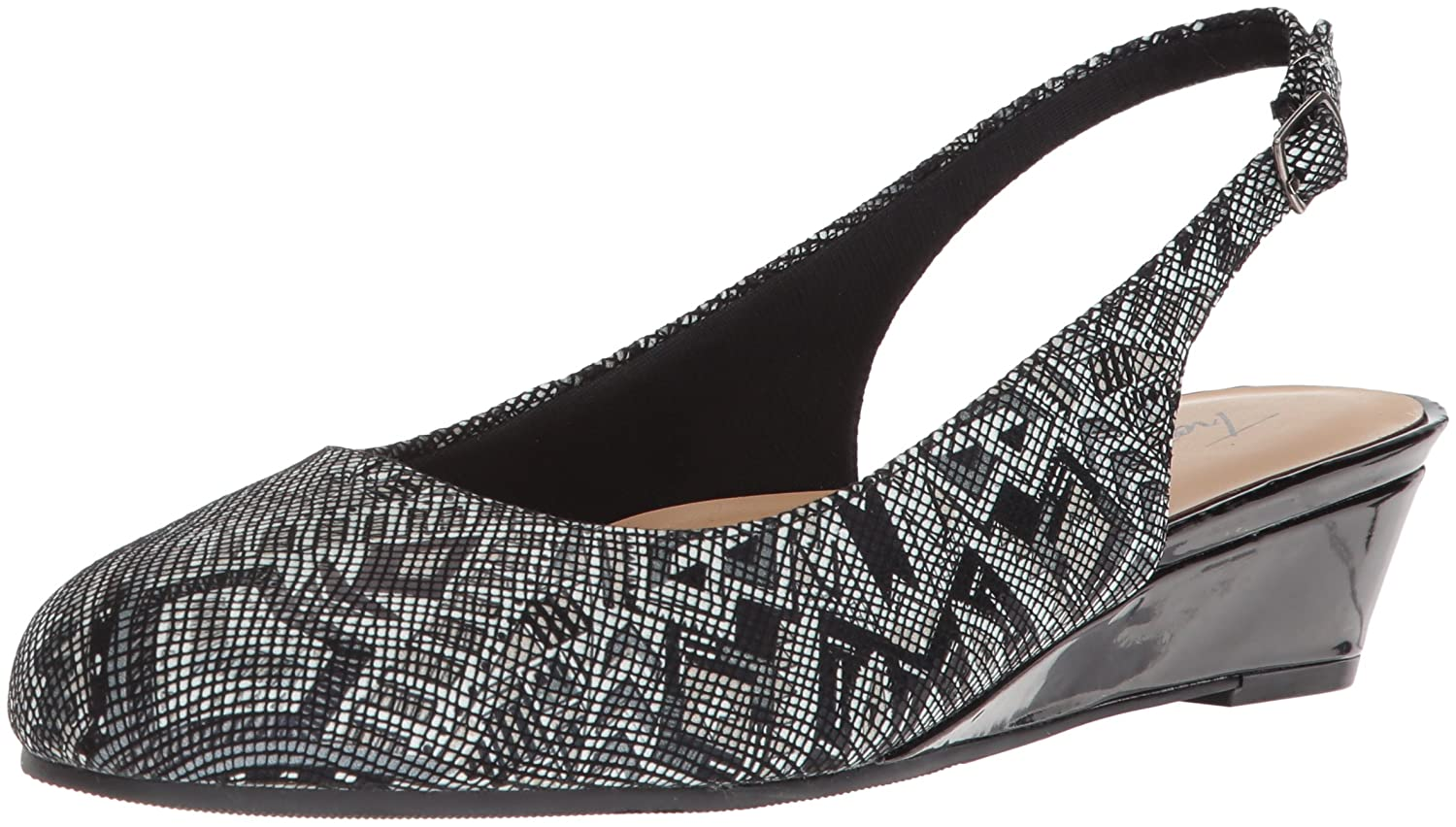 Trotters Women's Lenore Pump B073C6HGDP 12 B(M) US|Black/Multi