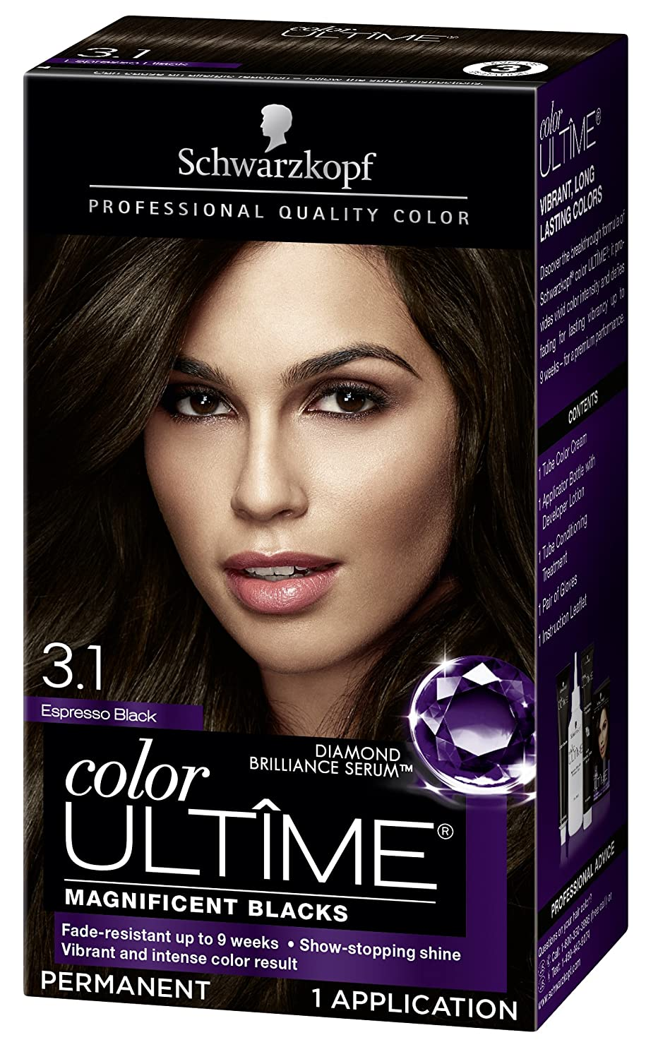 Amazon Schwarzkopf Color Ultime Hair Color Cream 31 Espresso