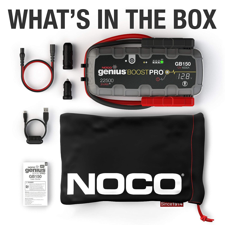 NOCO Boost Plus GB40 1.000 Ampere UltraSafe Lithium Starthilfeger/äte