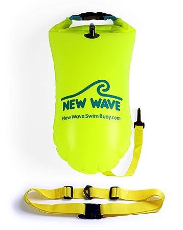 Amazon.com: New Wave boya para nadadores y triatletas de ...