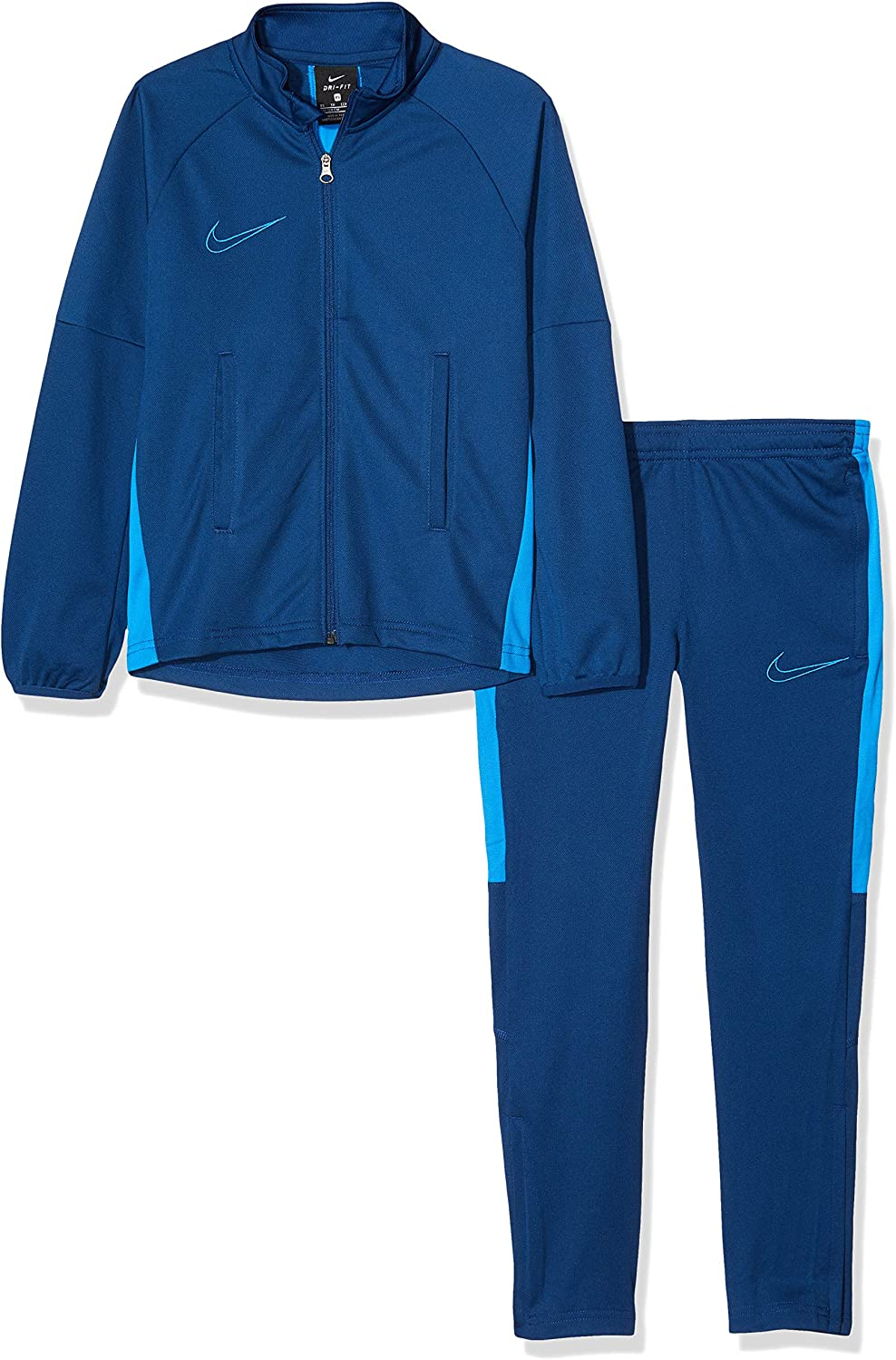 Nike Dry Academy Tracksuit K2 Coastal BlueLt Photo BlueLt Photo Blue