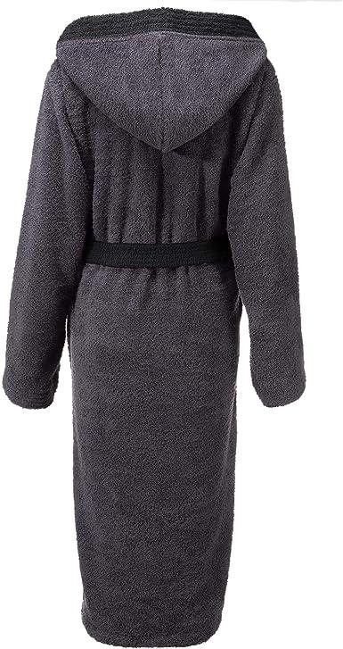 CelinaTex Fehmarn - Albornoz para mujer con capucha de algodón de ...