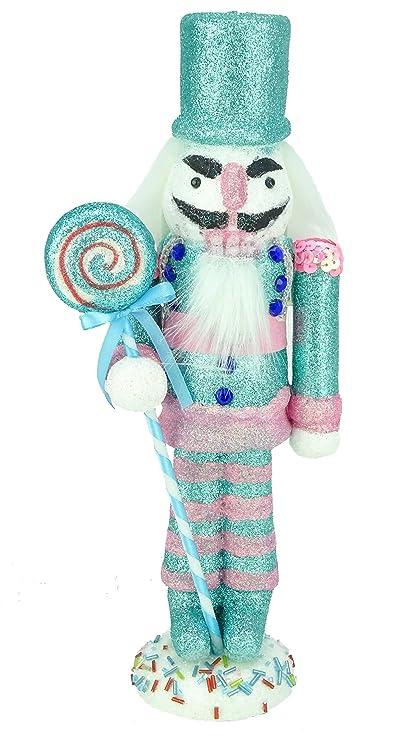 christmas concepts 30cm 12 glitter foam christmas nutcracker soldier decoration various