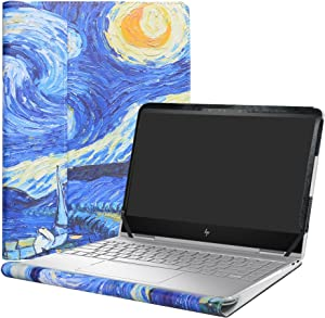 """Alapmk Protective Case for 13.3"""" HP Spectre x360 13 13-wXXX (13-w000 to 13-w999,Such as 13-w023dx) & 13-acXXX (13-ac000 to 13-ac999,Such as 13-AC013DX) Series Laptop[Not fit 13-aeXXX],Starry Night"""