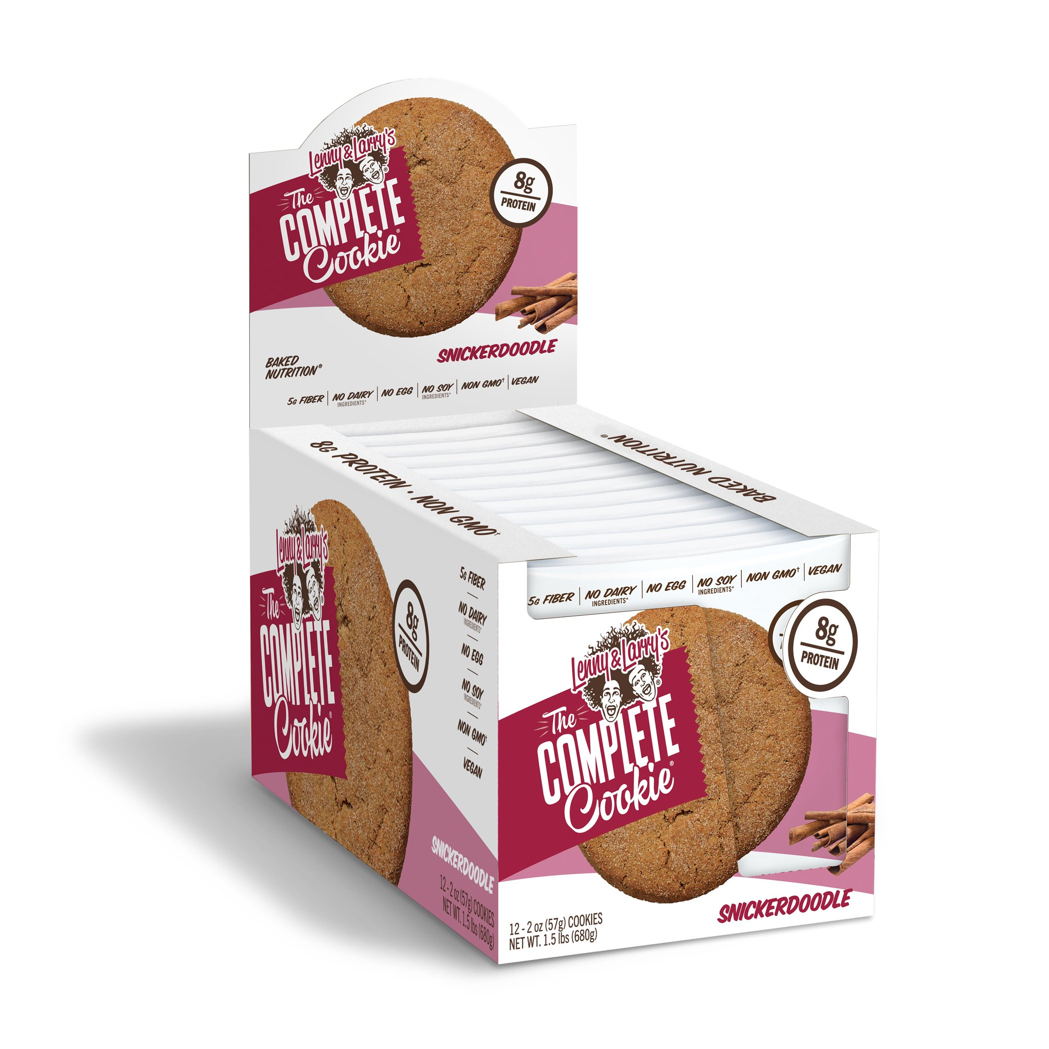 Lenny Larrys The Complete Cookie Snickerdoodle 2 Ounce Protein Cookies