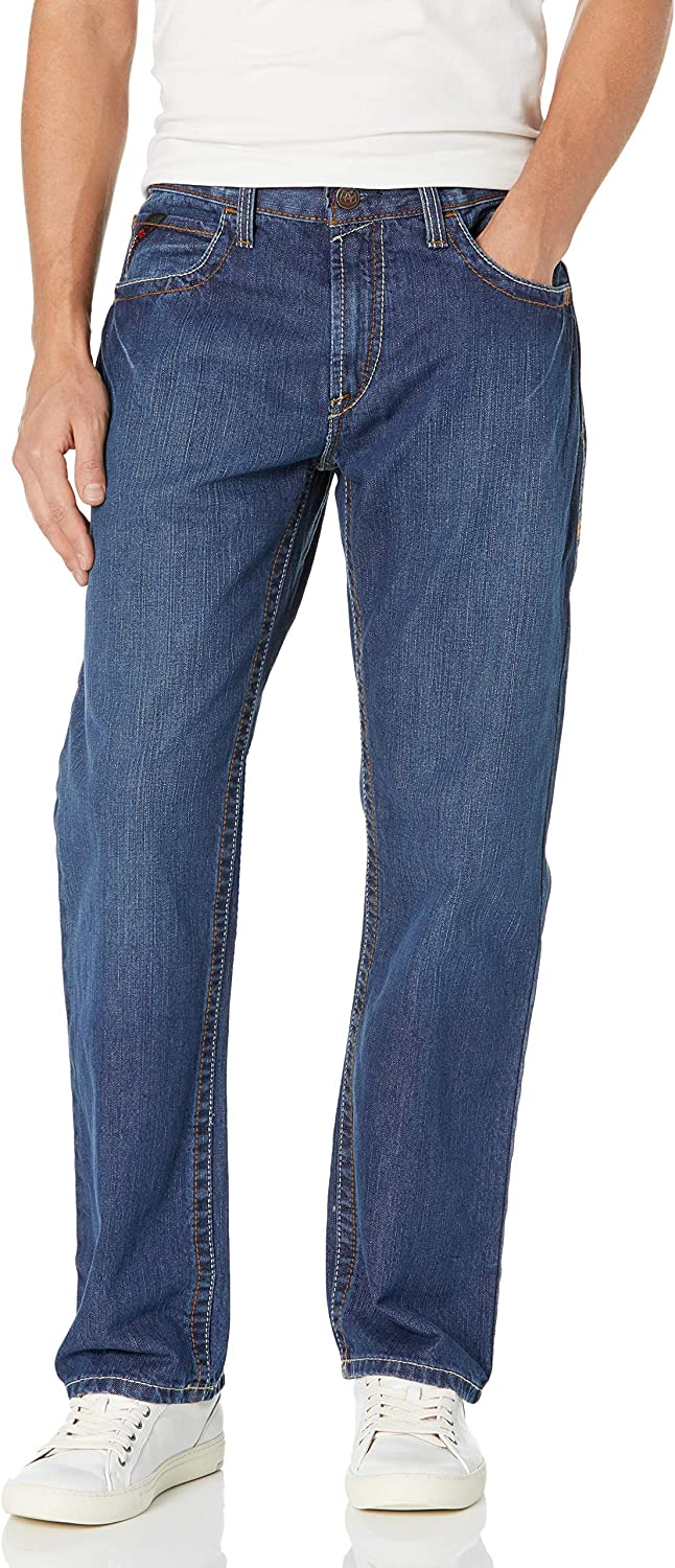 Ariat FR M3 Loose Basic Portland Mall Stackable Straight Jeans Men's Oklahoma City Mall Tra - Leg