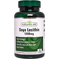 Natures Aid Lecithin Tablets 1200mg Pack of 90