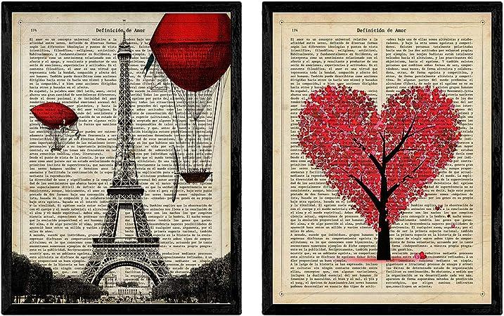 Pack de láminas para enmarcar París Je TAime. Posters Estilo ...