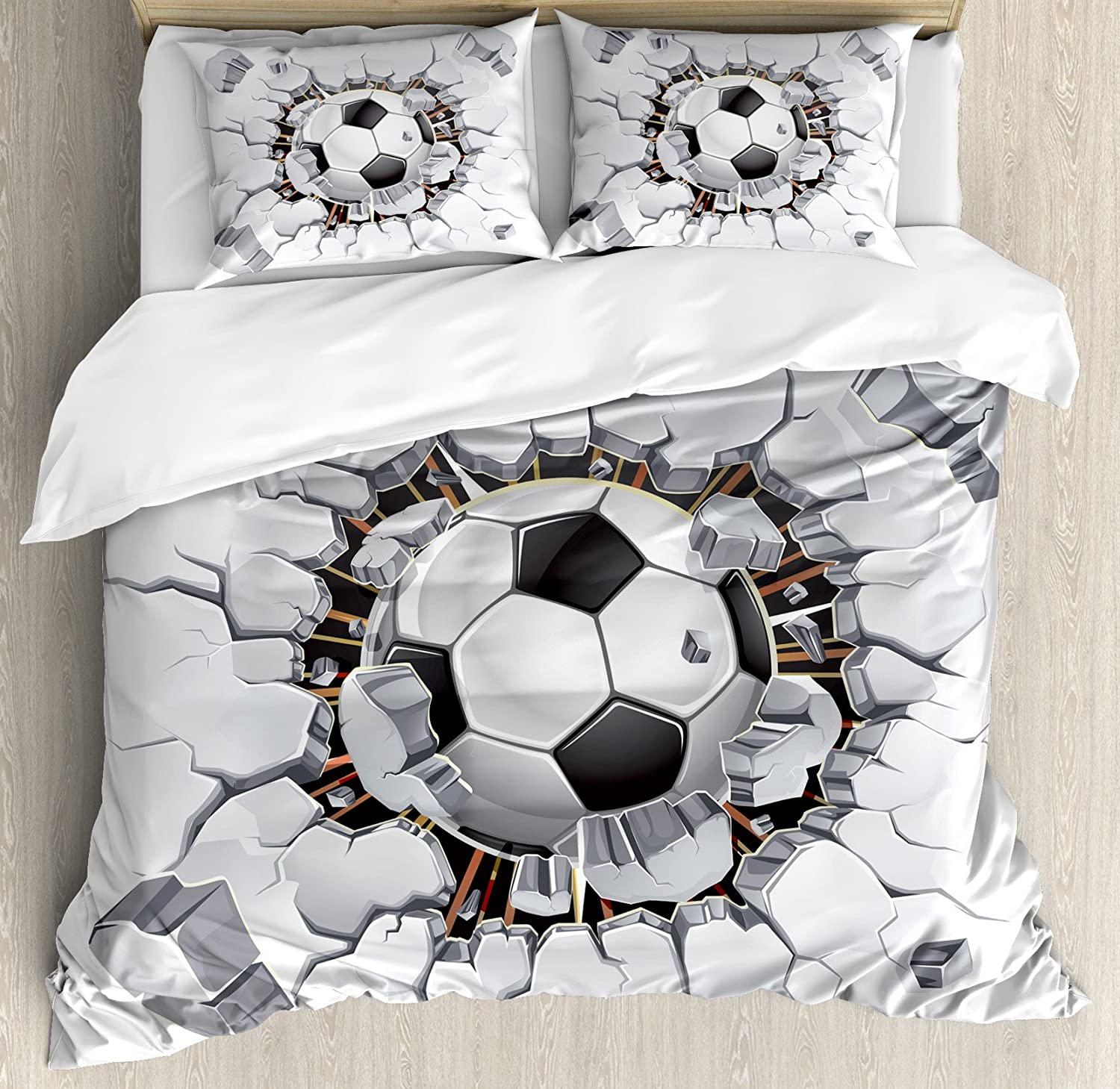 soccer listing bedding duvet for bed kids fullxfull or il zoom personalized