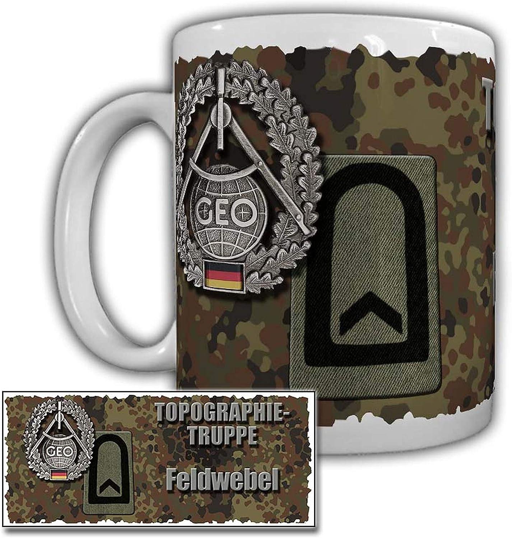 Taza, equipo de topografía, GPS, mesa de feria, brújula del ejército alemán #29978