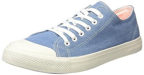 Springfield Sneaker Basica, Zapatillas para Hombre, Azul (Blue), 43 EU: Amazon.es: Zapatos y complementos