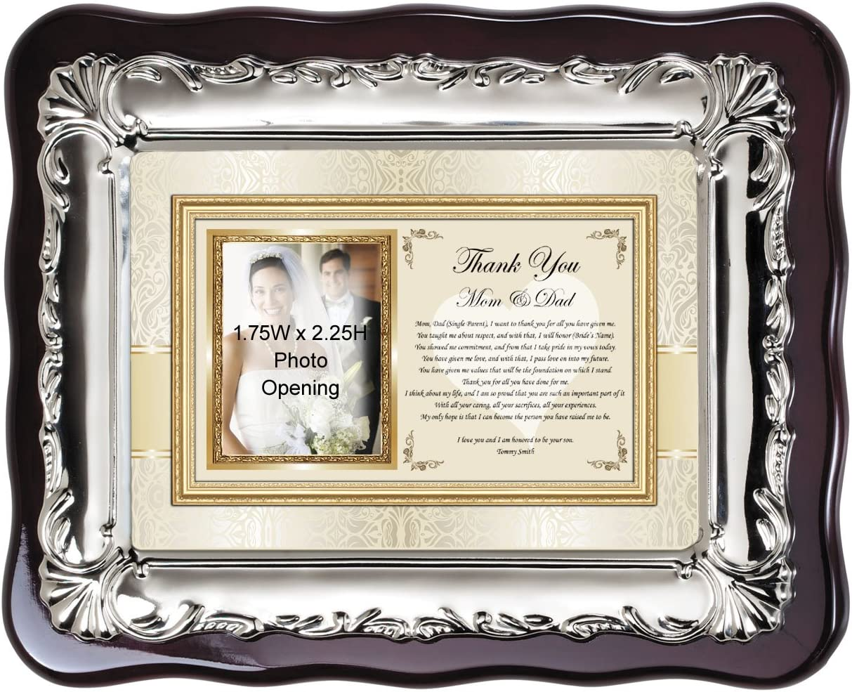 Wedding Gift for Mom Mother of the Bride Handmade Wedding Gifts from PhotoFrameOriginals Custom Photo Mats