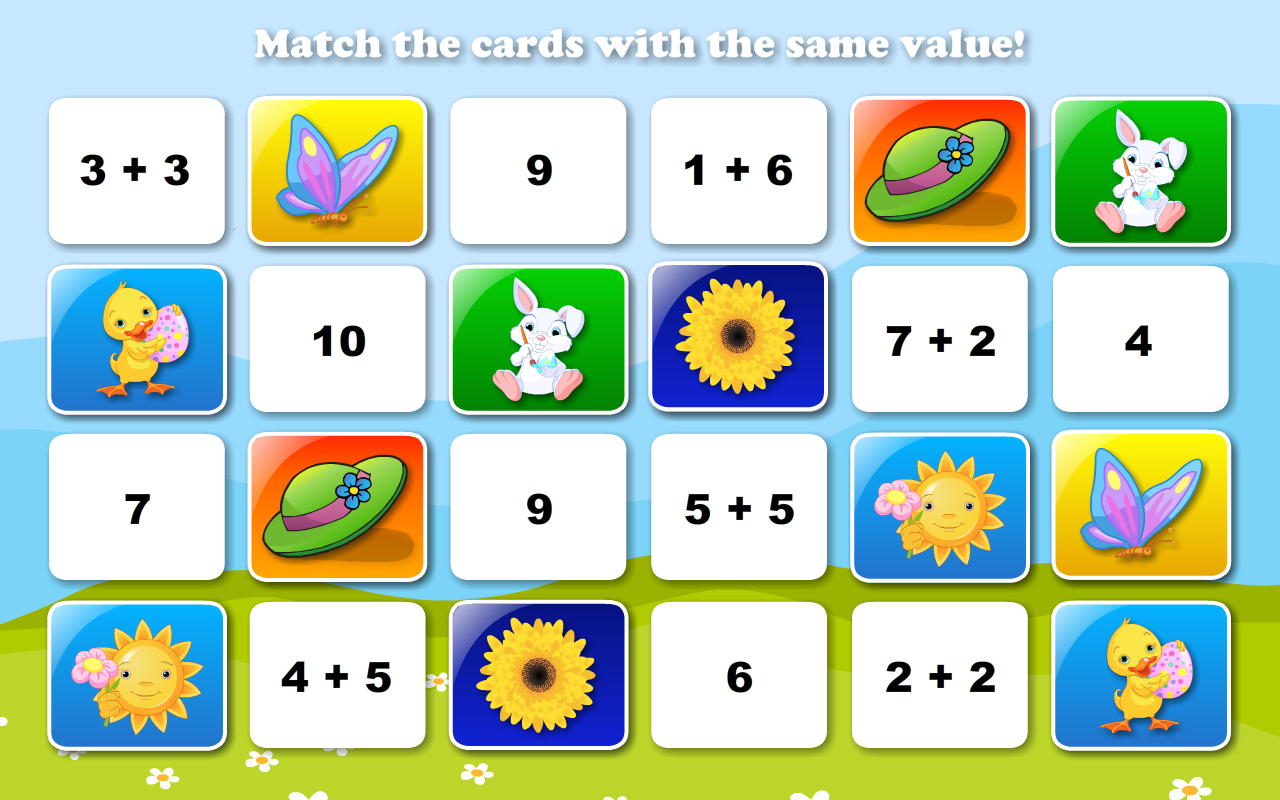 Amazoncom Math Games For Pre K Fourth Grade Math Bingo And Math