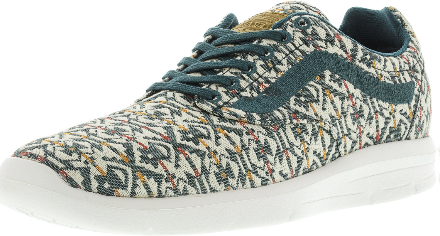 Vans Mens ISO 1.5 Low Top Lace up Fashion Sneakers B071F8YTQS 4.5 D(M) US|Atlantic Deep