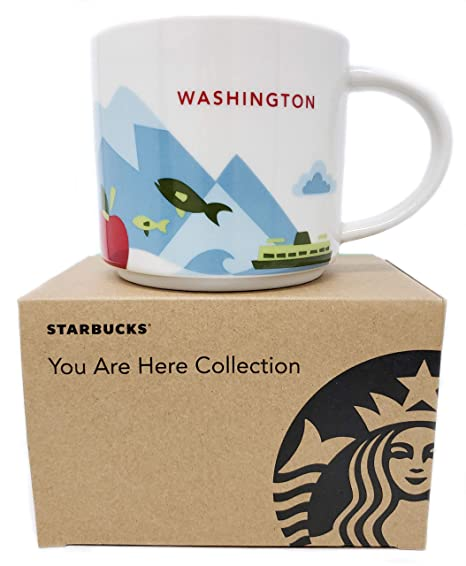 You Coffee Starbucks Are Here State New Release Collection Washington 2015 Brand Mug Lq5c34RAj