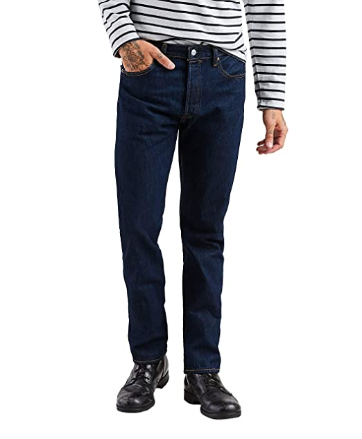 eb12dc871be248 Levi's Men's Big-Tall 501 Original Fit Jeans, Rinse, 33x36: Amazon.ca:  Clothing & Accessories