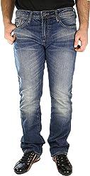 BUFFALO King Jeans - Blue - Mens - 33 x 32