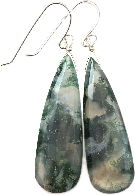 Natural Agate Pear Cabochon Women Pendant Natural Gemstone Pendant 925 Sterling Silver Women Dangle Pendant Fancy Shape Women Pendant
