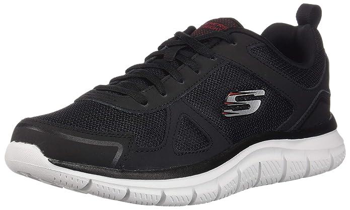 Skechers Track-Scloric Sneakers Herren Schwarz / Weiß