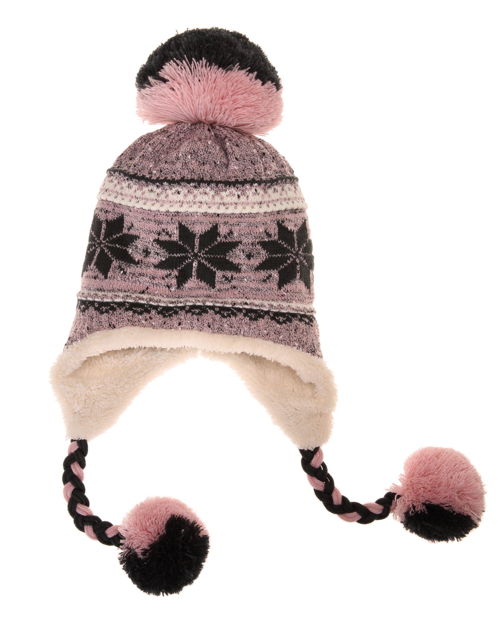 a29e2a52e Dosoni Women Girl Winter Hats Knit Soft Warm Earflap Hood Cozy Large ...