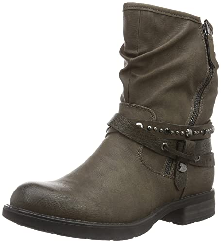 quality design ea7bb ec215 TOM TAILOR Damen 1695607 Biker Boots