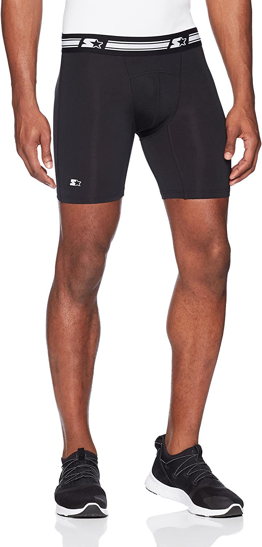 "Starter Men's 6"" Athletic Light-Compression Short, Amazon Exclusive"