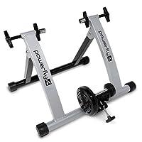 Powerfly Turbo Magnetic Fahrrad Rollentrainer für Innentraining - Einstellbarer Widerstand - Einstellbare Geschwindigkeit