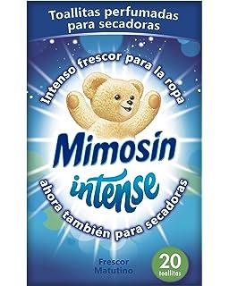 Mimosín Toallitas Perfumadoras para Lavadoras - 9 Paquetes de 20 unidades