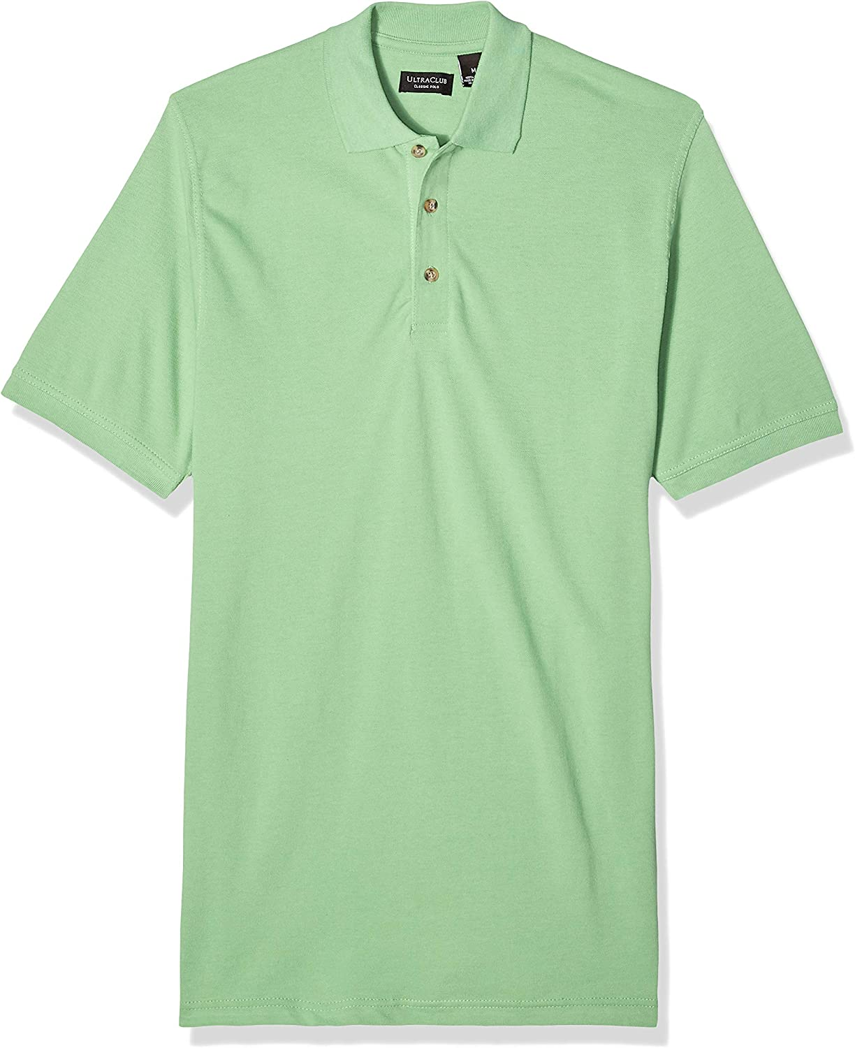 UltraClubs Men's Classic Pique Polo