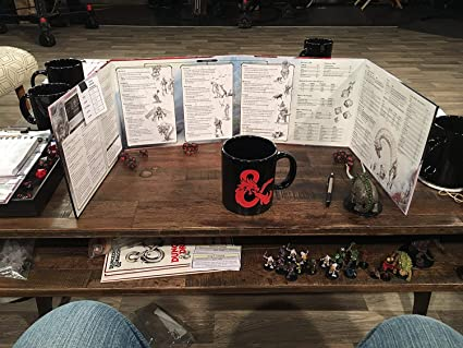 5th RPG - Dungeon Master's DM Screen - Reincarnated (Fifth Edition