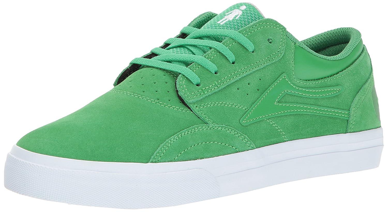 Lakai Griffin Skate Shoe B01N10CEX5 10.5 M US|Green Suede