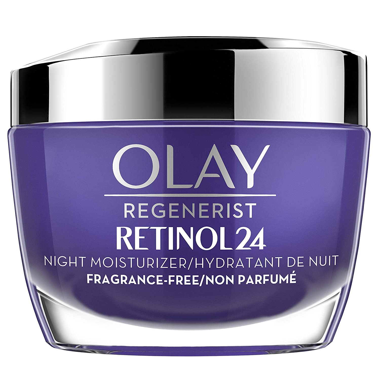 olay regenerist retinol 24 night moisturizer cream