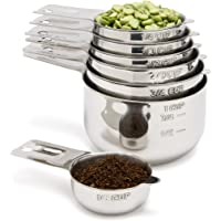 Measuring Cups with Mixing Bowls Combo Set by Simply Gourmet. Contains 7 piece Measuring Cups and 5 Piece Mixing Bowl Set