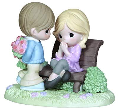 "Precious Moments, Thinking Of You Gifts, ""This Is Love"", Bisque Porcelain Figurine"