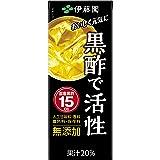 伊藤園 黒酢で活性 (紙パック)200ml×24本