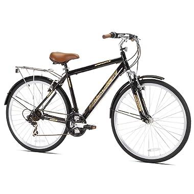 Kent Northwoods Springdale Men's Hybrid Bicycle, Black