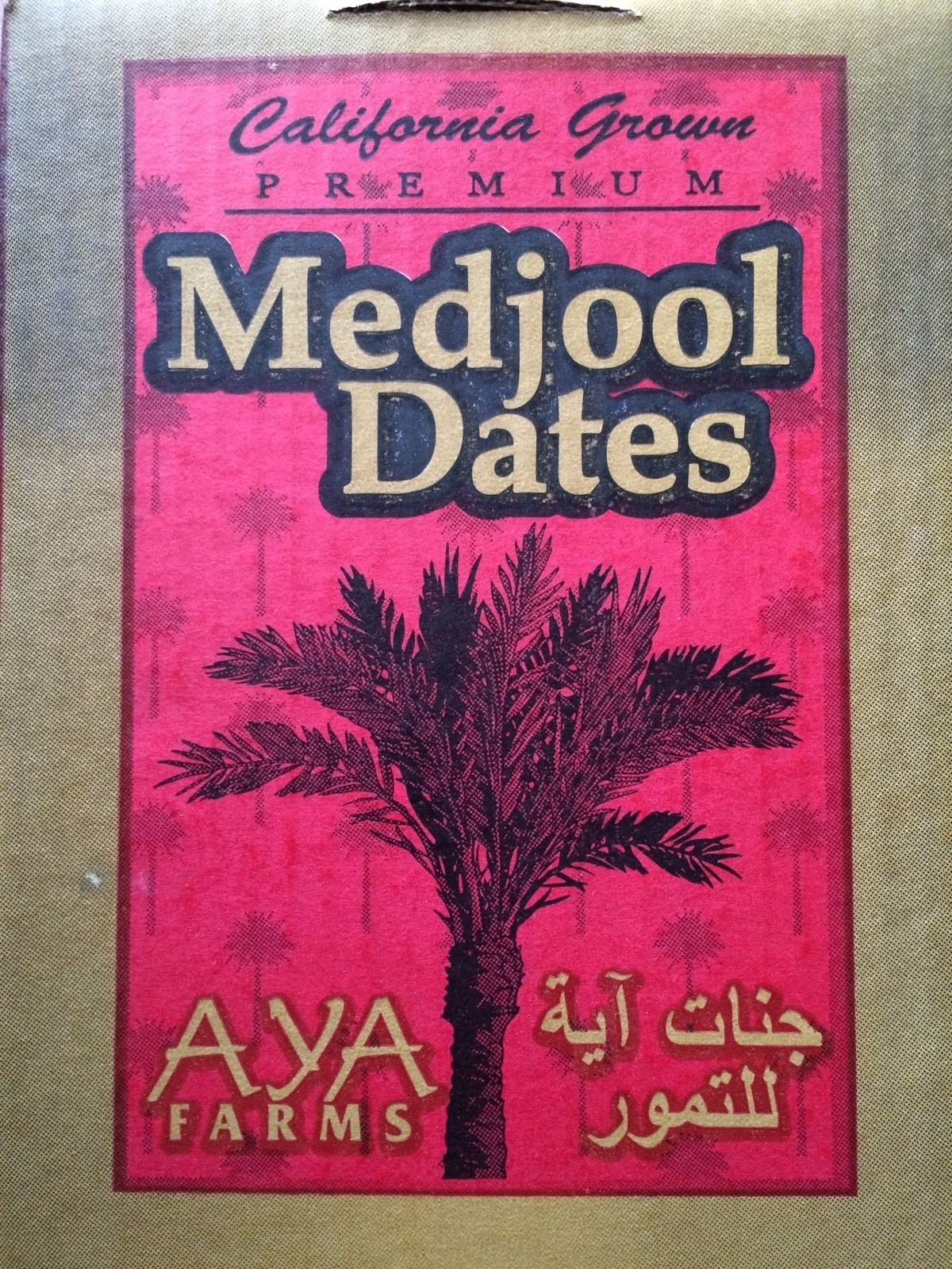 Medjool Dates, Fresh, Soft, Sweet, fom Aya Farms, 2 lb, تمر مدجول